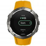SS023408000 - SPARTAN - Trainer Wrist HR Amber - Front View_TR-Running-basic-Start