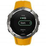 SS023408000 - SPARTAN - Trainer Wrist HR Amber - Front View_TR-Running-basic-Start