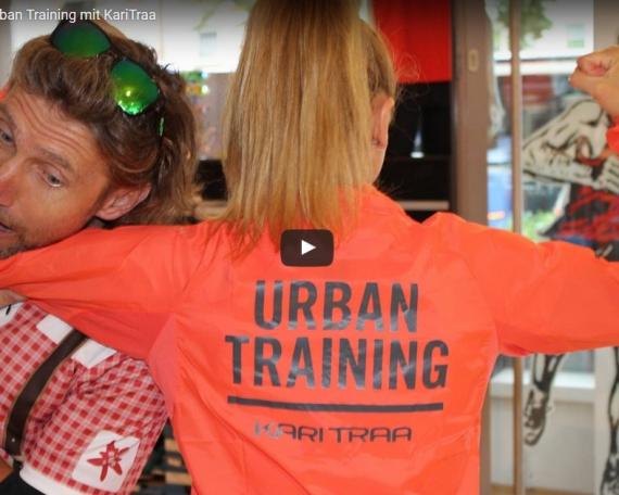Streckengeflüster Urban Training mit KariTraa