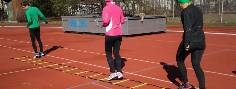 Lauftechnik- und Tempotraining im Frühjahr 2018